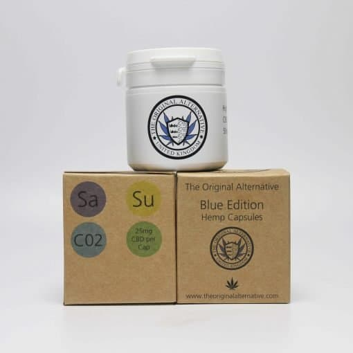 CBD Brothers Blue Edition Capsules