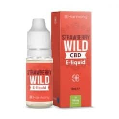 Harmony CBD E-Liquid Strawberry Wild