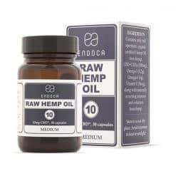 Endoca RAW CBD Oil Capsules