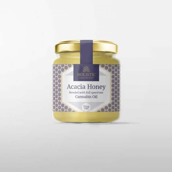 Holistic Highland Hemp CBD Honey 25mg