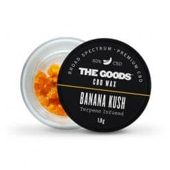 The Goods CBD Wax Banana Kush