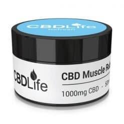 CBDLife Muscle Rub 1000mg Refresh