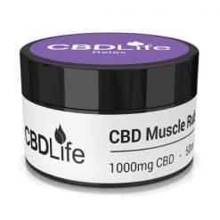 CBDLife Muscle Rub 1000mg Relax