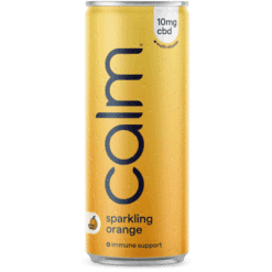 Calm Drinks Orange Immune Support Sparkling Water Product Image