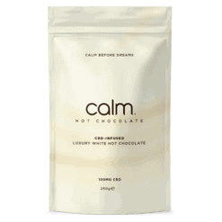 Calm Luxury CBD Infused Hot Chocolate White Pack