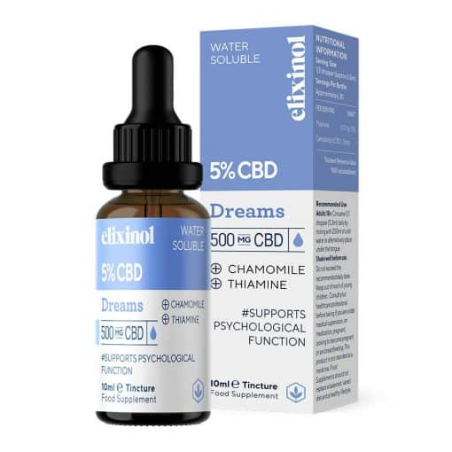 Elixinol Water Soluble CBD 500mg Dreams