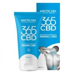 365 CBD Arctic Gel Product Shot