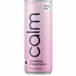Calm Drinks CBD Mixed Berry Sparkling Water