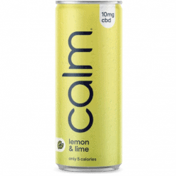 Calm Lemon & Lime CBD Sparkling Water