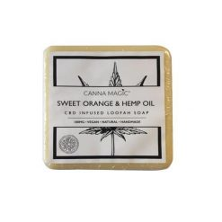 Canna Magic CBD Soap Sweet Orange & Hemp Oil 100mg