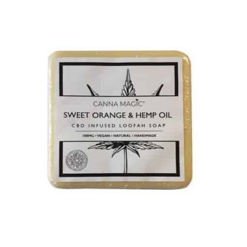 Canna Magic CBD Soap Sweet Orange & Hemp Oil 100mg