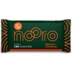 Nooro CBD Snack Bar Banana & Cinnamon