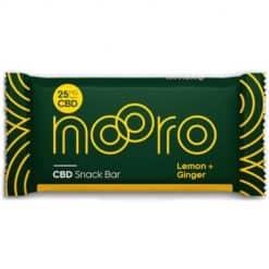 Nooro CBD Snack Bar Lemon & Ginger