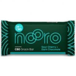 Nooro CBD Snack Bar Sour Cherry & Dark Chocolate