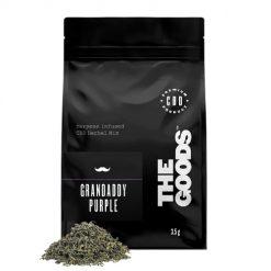 The Goods CBD Herbal Mix Grandaddy Purple