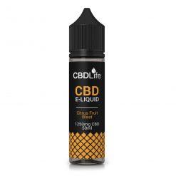 CBDLife CBD E-Liquid 1250mg Citrus Fruit Blast